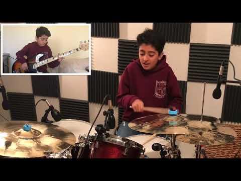 Rosie -John Mayer , Drum & Bass Cover by Raghav Mehrotra
