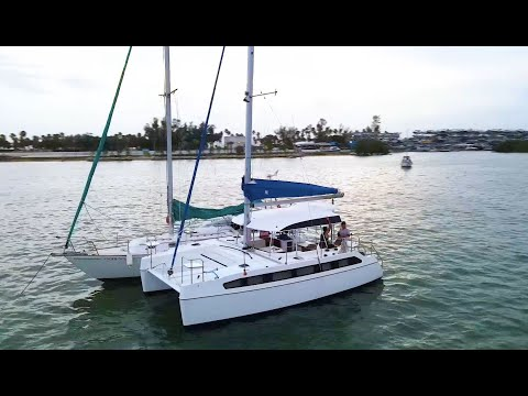 First Time Sailor Tries Smart Cat S280 Open