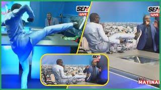 Quand Mansour Diop attaque Ahmed Aidara en plein direct sur le plateau