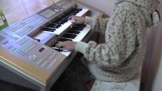 ドコモCMソングのチェロ演奏「影武者」エレクトーン6級 (2CELLOS - Kagemusha)[Aya]