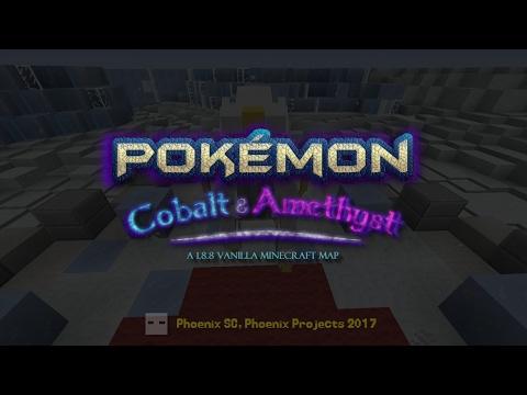 Minecraft 裏面玩完整故事既 Pokemon?! (NO MOD) - Pokemon Cobalt/ Amethyst