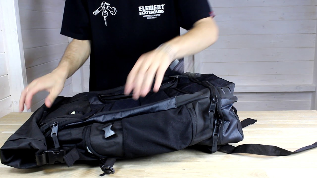 7eb7217208 Quiksilver Capitaine Backpack Demo