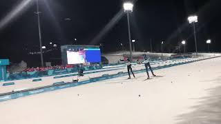 Pyeonchang 2018 Men's mass start finish