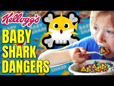 Baby Shark Cereal What You Need to Know / The Food Babe vs Kelloggs