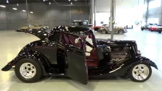 1934 Ford 3 Window Coupe ORD #0019