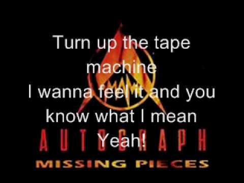 Autograph - Turn Up The Radio(Raw Demo Version)(with lyrics)