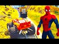 Spiderman Cartoon Train For Kids & Lightning Mcqueen Monster Truck Nursery Rhymes Children's Songs video