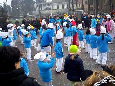 Carnevale 2012 Il balletto dei Puffi di Boffalora
