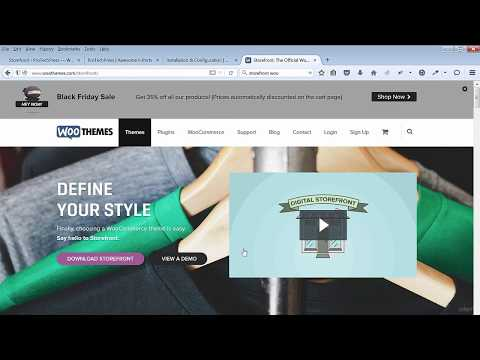 Install The Storefront Ecommerce Theme And WooCommerce