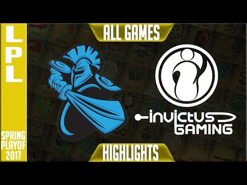 Newbee vs Invictus Gaming Highlights All Games - LPL Spring 2017 Playoffs - NB vs IG All Games
