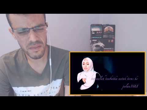 Hidayah Mu - Shila Amzah LIRIK VIDEO ||REACTION|| جزائري