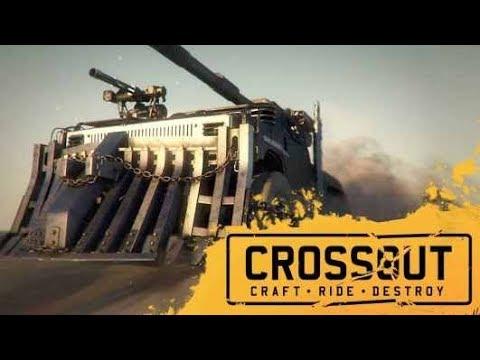 Crossout - LUNA [Clan Wars / Клановые войны] стрим 27/06/2019 [перезалив]