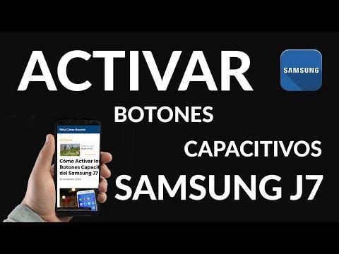 Cómo Activar los Botones Capacitivos del Samsung J7