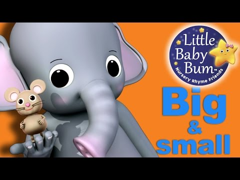 Big and Small Song | Nursery Rhymes | Original Song by LittleBabyBum!
