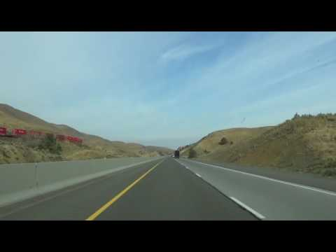 Interstate 84: Ontario, OR to Pendleton, OR Timelapse Drive
