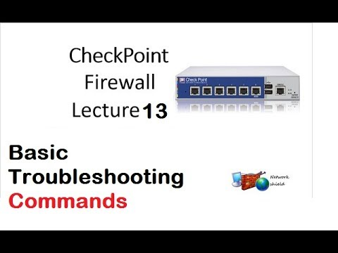 Lecture 13: Checkpoint Basic troubleshooting commands
