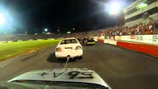 Fastest Chain Race Ever The Madhouse Bowman Gray Stadium In Car