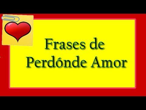Frases De Perdon De Amor Frases De Perdon Y Reconciliacion Youtube