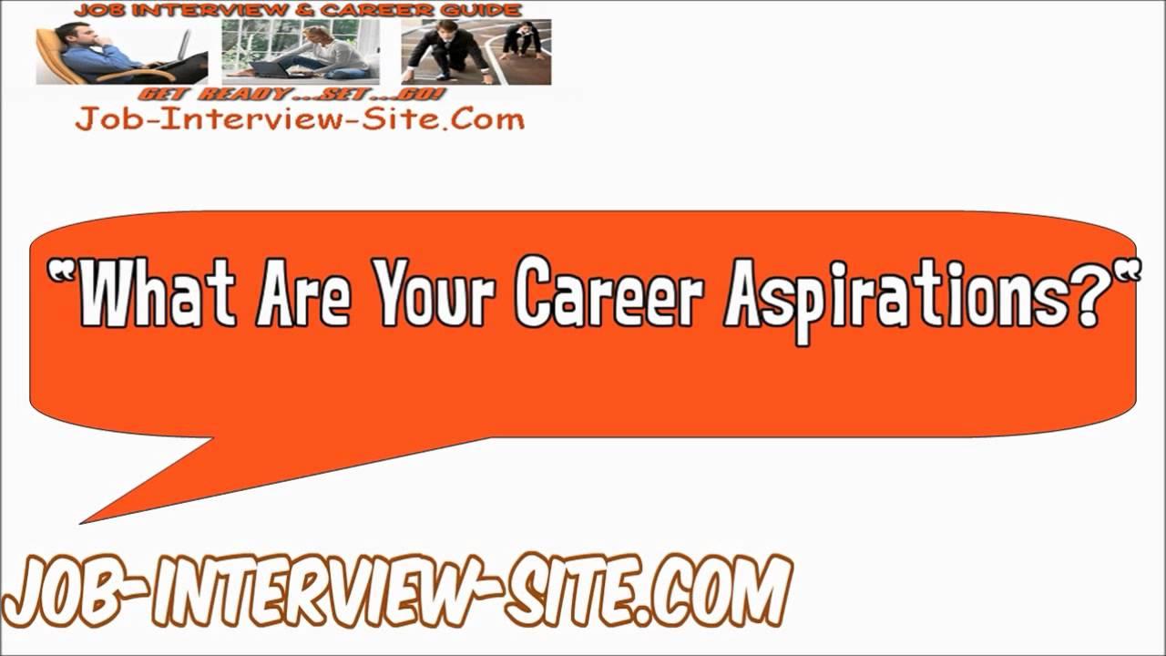 career aspiration