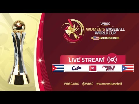 Cuba v Puerto Rico - Placement Round - Women's Baseball World Cup 2018