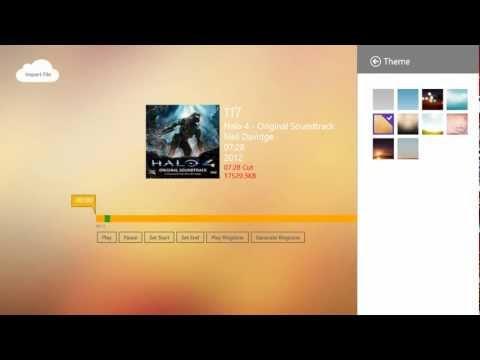 Windows 8 App - Wp Ringtone Maker