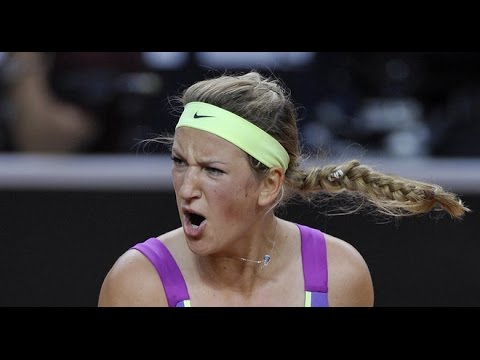 Azarenka VS Radwanska Highlight 2012