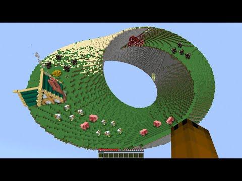 Minecraft but it's a Möbius Strip (#2)...