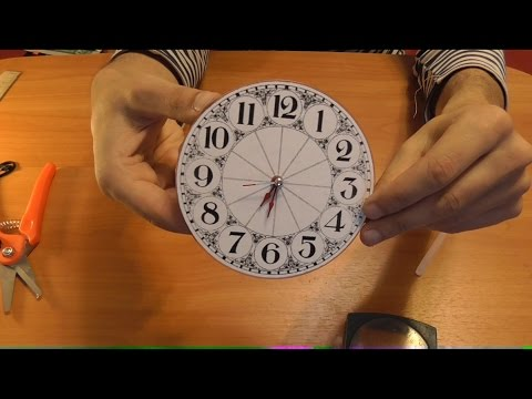 Как сделать часы