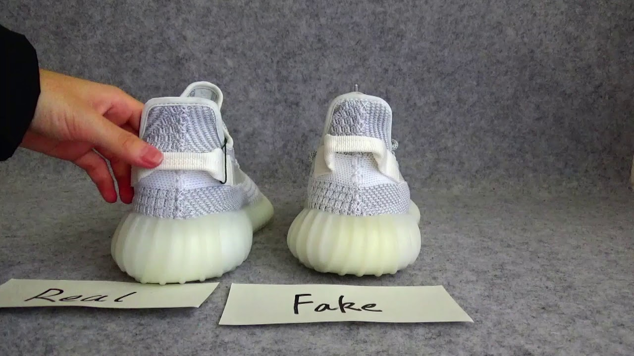 uk availability d30d9 d02de FAKE VS REAL Comparision Review For Yeezy 350 V2 Static Reflective