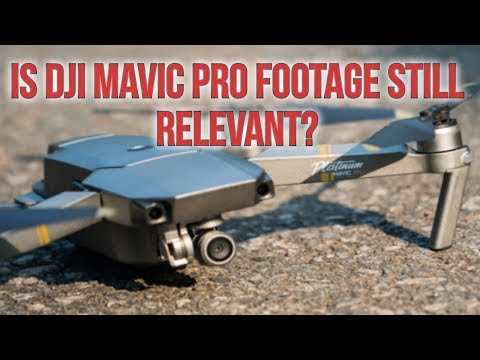 DJI Mavic Pro Drone flying footage in Long Island City NY Day & Evening