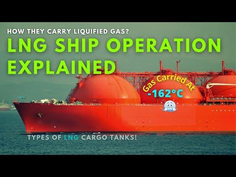 LNG Cargo ship