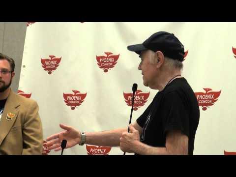 Walter Koenig Full HD Panel Chekov Comicon *Trek Spoilers* Phoenix Comicon