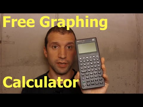 How to get a free graphing calculator (HP-48GX).