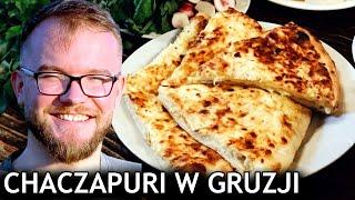 CHACZAPURI - gruzińska pizza? KUCHNIA GRUZIŃSKA i jej PERŁA! [TBILISI] | GASTRO GRUZJA VLOG #274