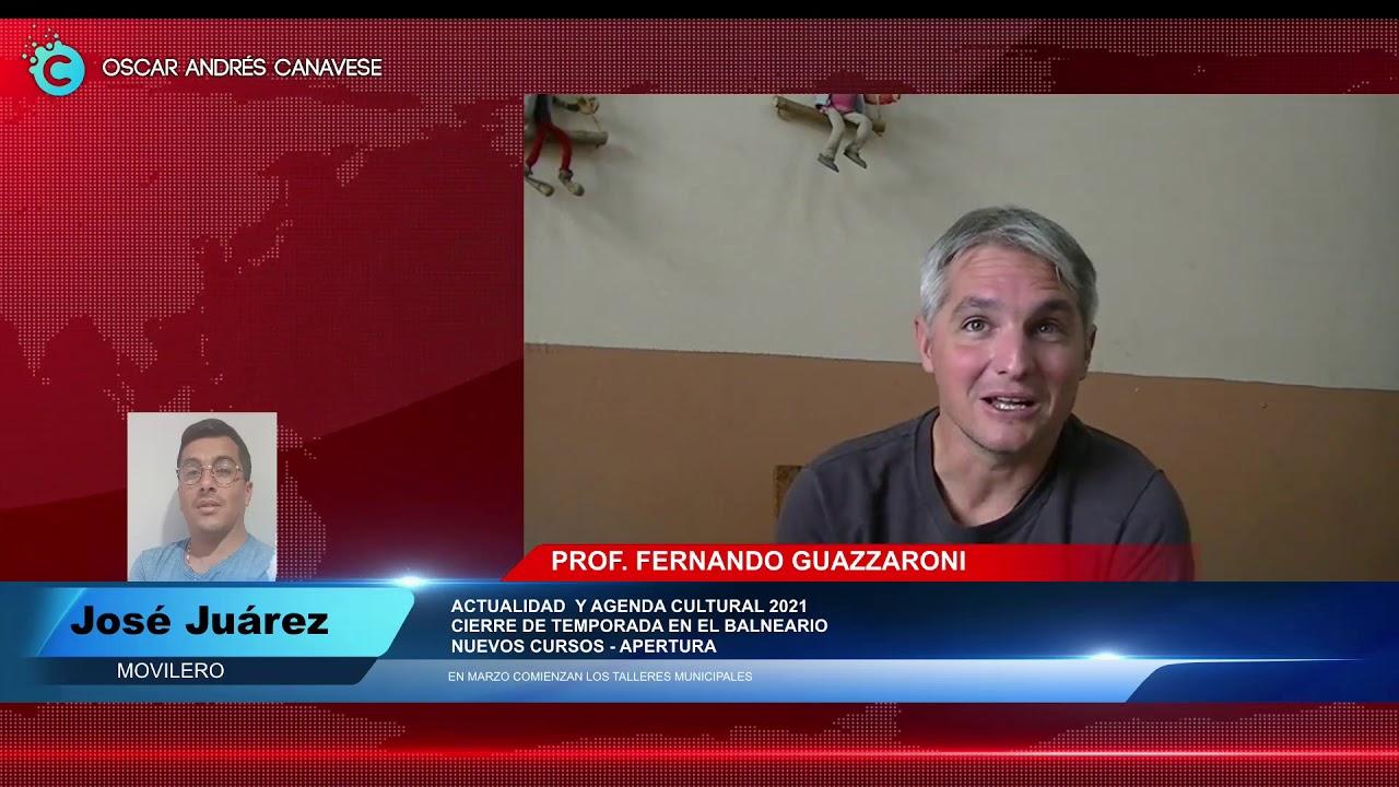 FERNANDO GUAZZARONI   AGENDA 2021