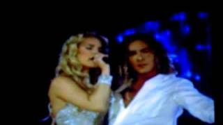 Jessica Simpson & David Bisbal- Angels LIVE