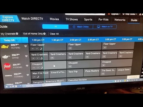Using Chromecast 2 For DirecTV Online Streaming (PC / Mac)
