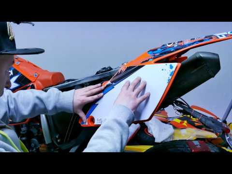 #Braapstyle / HOW TO - New decals KTM 525 (4K footage)