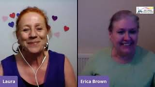 In Conversation with the wonderful Rev Erica Brown on The Cosmic Prayer with Laura Topper