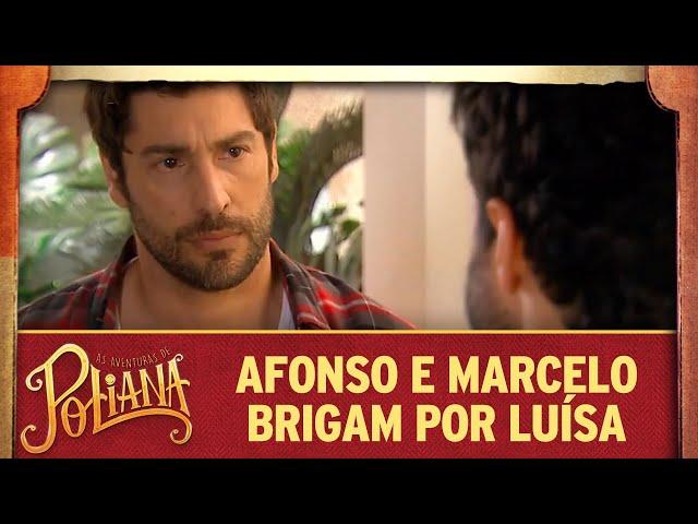 Marcelo e Afonso brigam por Luísa | As Aventuras de Poliana