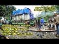 Evakuasi Truk Trailer Pembawa Trafo 120 TON milik PLTA OMBILIN di Kelok Tabek Patah Tanah Datar