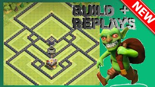 EPIC Th11 Hybrid Base (30% Shield) | The Aegis (Build + Replays) | Clash Of Clans