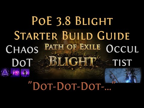 [PoE] [Guide] Chaos DoT Occultist 3.9 Metamorph #StarterBuild | ED+Contagion+Bane [play_like_jay]