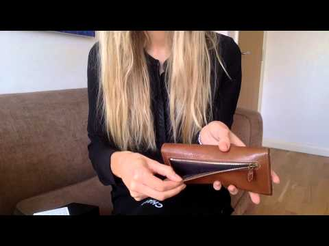 1477b62731 Mulberry Continental Wallet in tan Leather la_bonita03 - YouTube