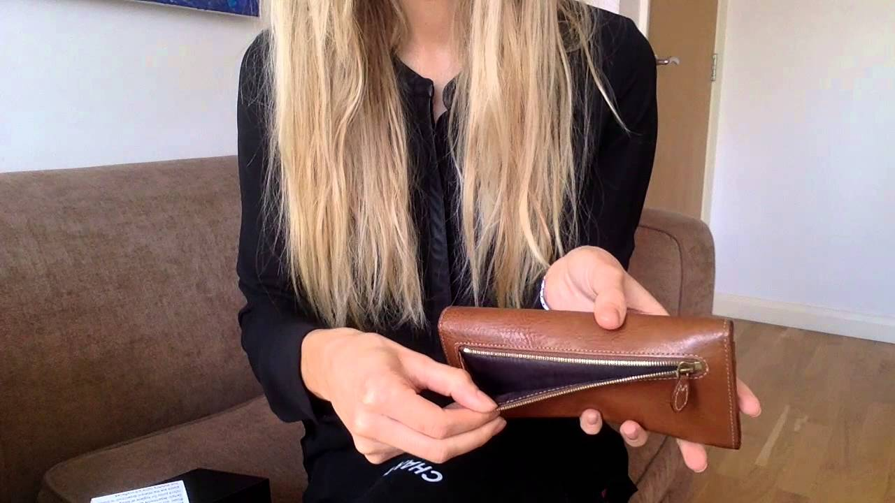 purchase authentic popular brand lower price with Mulberry Continental Wallet in tan Leather la_bonita03