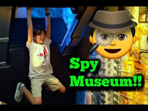 Boys Road Trip To DC Day 2! The Spy Museum and Air and Space Museums
