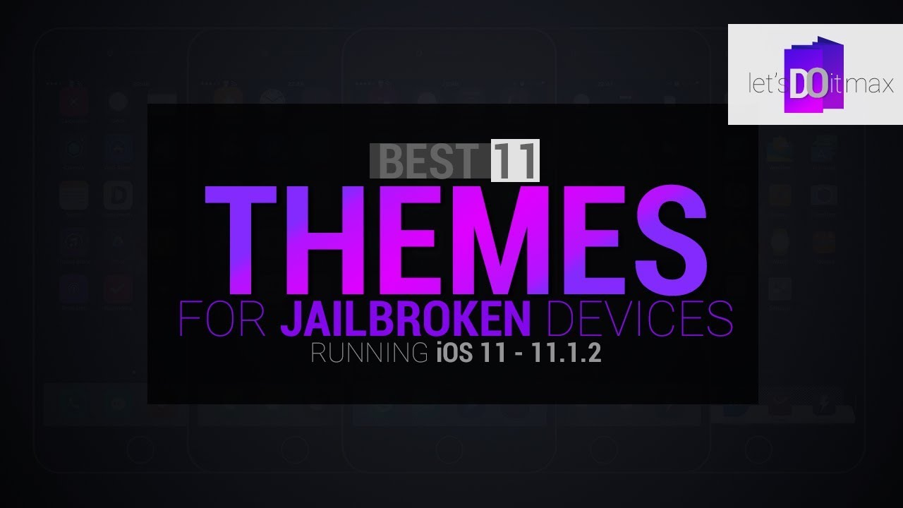 Best 11 CYDIA THEMES iOS 11 1 2 (fully compatible)