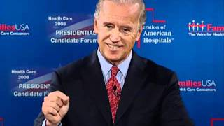 2008 Presidential candidate: Joe Biden