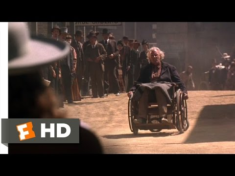 Wild Bill (3/10) Movie CLIP - Wheelchair Showdown (1995) HD