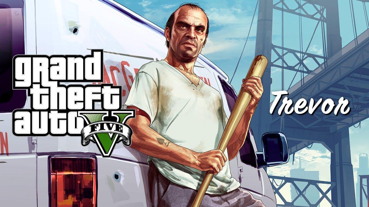GTA V - Trevor Phillips, Personaje • Eurogamer.es